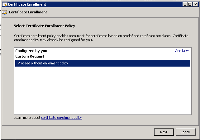 Manually generating the certificate request for lync web services select no template legacy key yelopaper