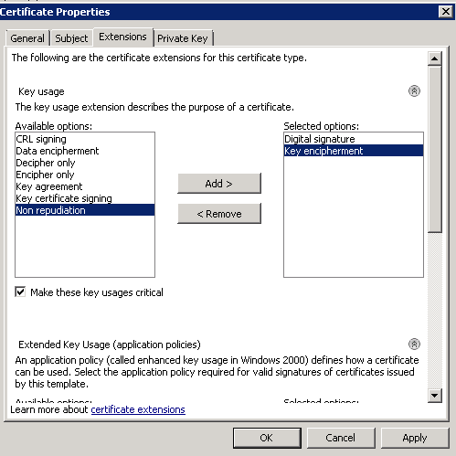 Manually generating the certificate request for lync web services clipimage006 yadclub Choice Image